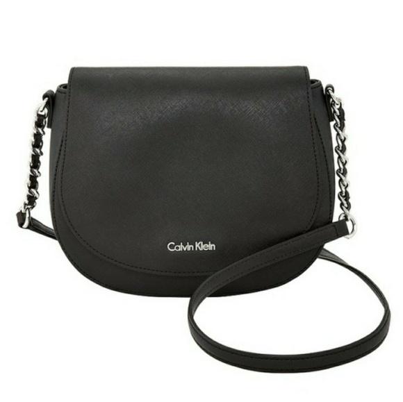 Calvin Klein Saffiano Saddle Crossbody Bag | Purses in 2019